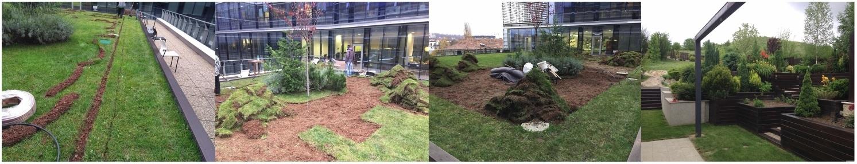 amenajari gradini spatii verzi hunedoara